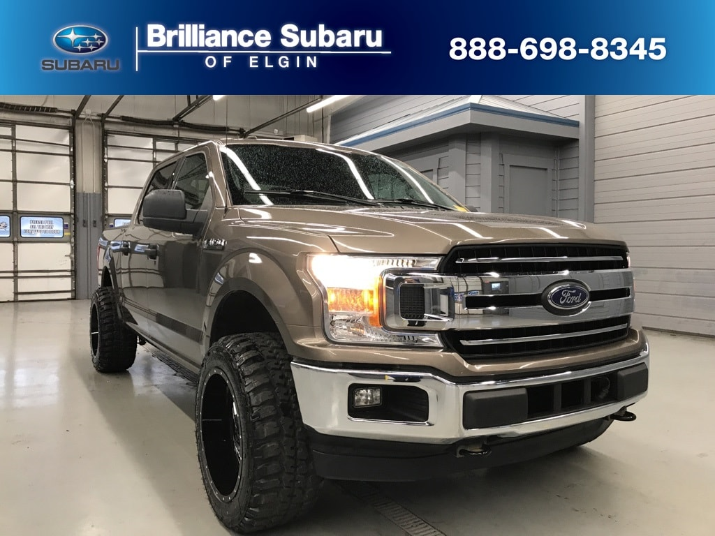 Used 2018 Ford F-150 Truck SuperCrew Cab Elgin IL