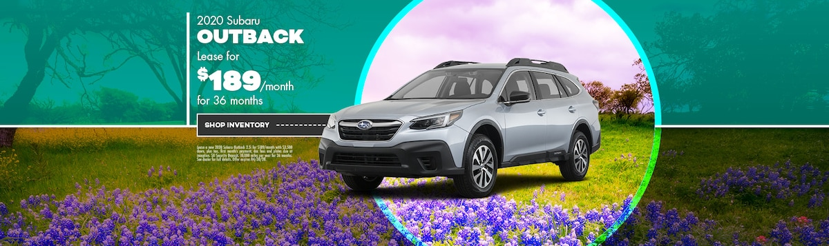 2020 Subaru Outback Lease Offer