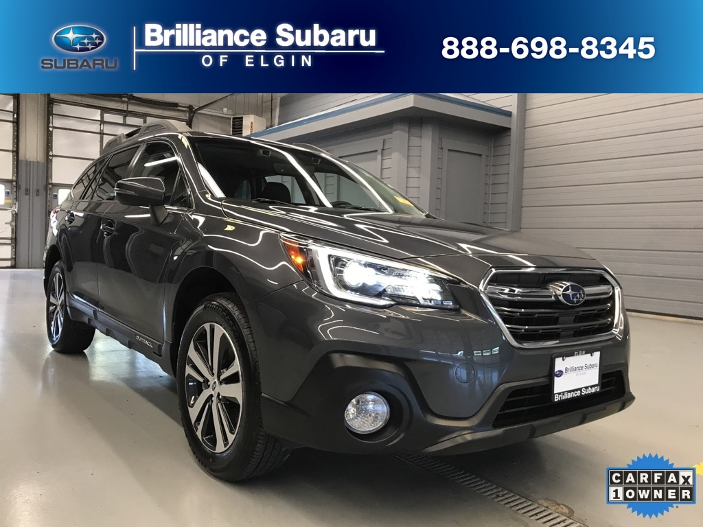 Used 2018 Subaru Outback 2 5i Limited For Sale in Elgin IL    4S4BSANC9J3372556