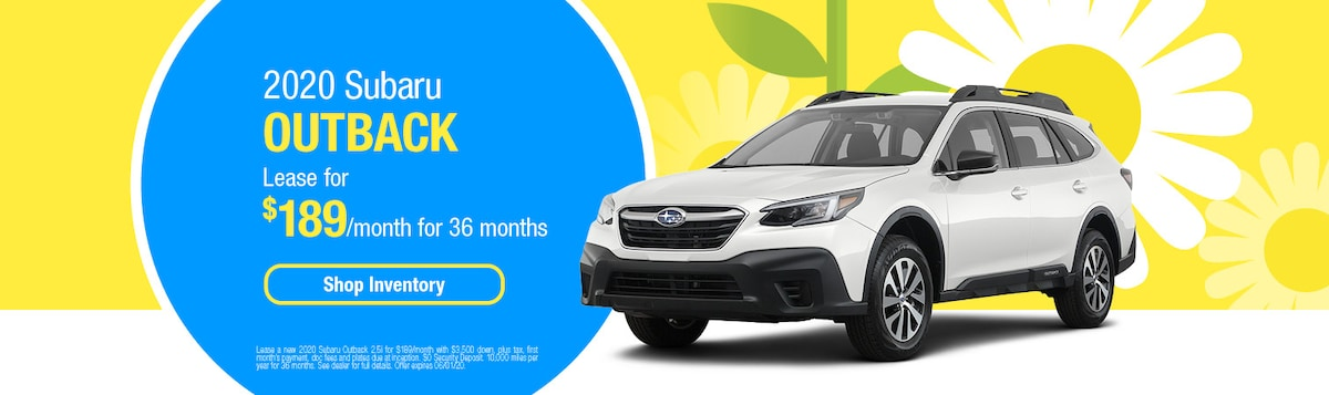 2020 Subaru Outback Lease Offer