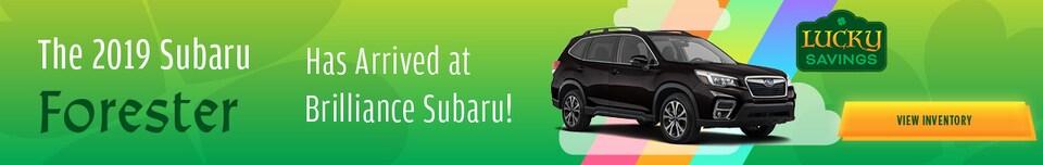 March - 2019 Subaru Forester Arrival