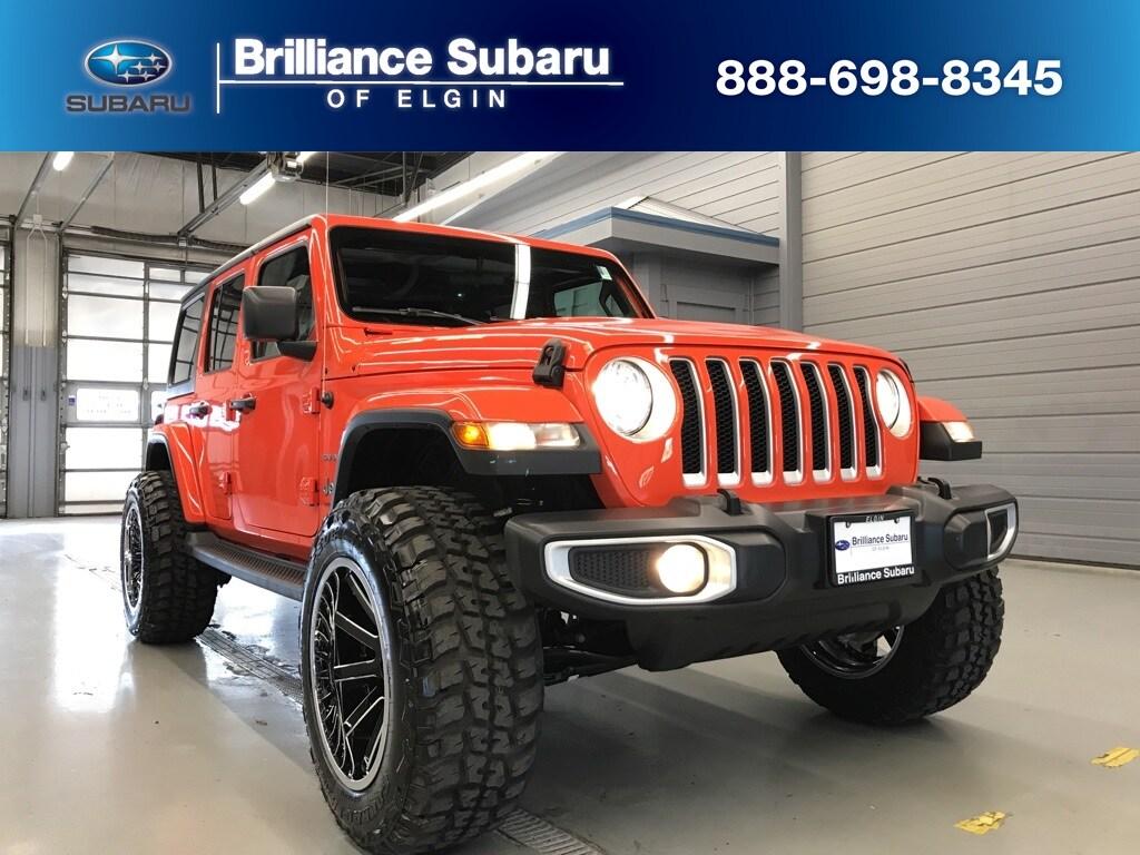 Used 2019 Jeep Wrangler Unlimited Sahara 4x4 SUV Elgin IL