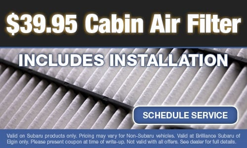 $39.95 Cabin Air Filter