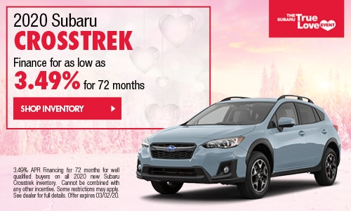 2020 Subaru Crosstrek Financing