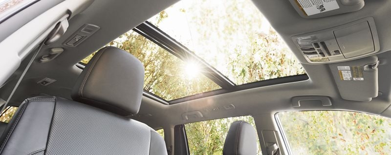 2017 Toyota Highlander Sunroof