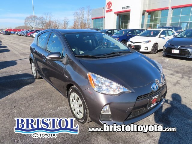 2013 Toyota Prius c LT BLUE GRY/BLK FABRIC Hatchback