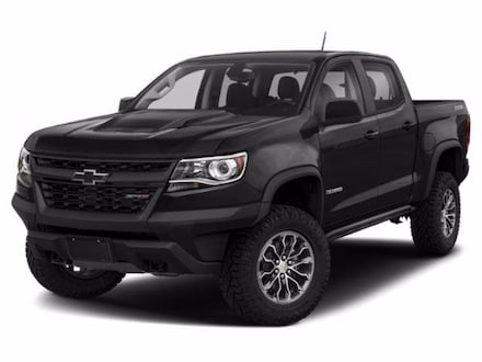 2018 Chevrolet Colorado 4WD ZR2 Crew Cab Pickup