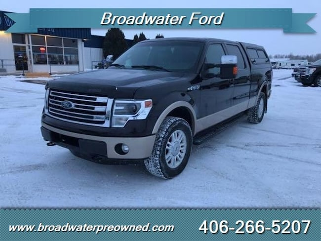 2013 Ford F-150 Platinum Crew Cab Short Bed Truck