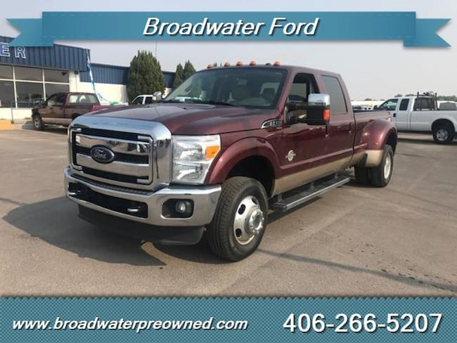 2012 Ford F-350 Super Duty Crew Cab Long Bed Truck