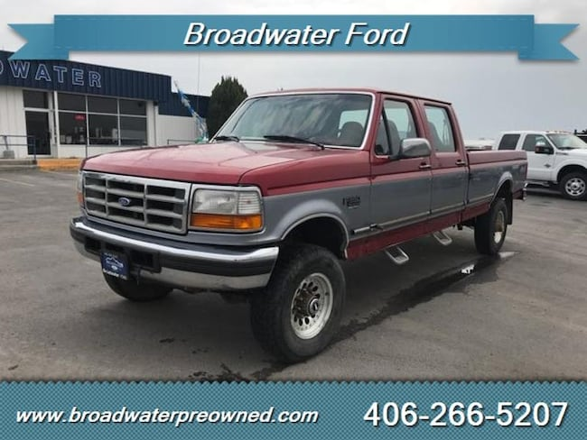 1997 Ford F-350 XLT XLT Crew Cab Long Bed Truck