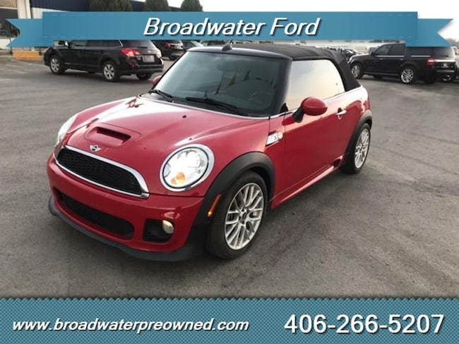 Used 2012 Mini Cooper For Sale At Broadwater Ford Vin