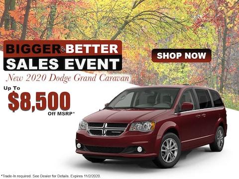 New 2020 Dodge Grand Caravan Up To $8,500 Off MSRP*