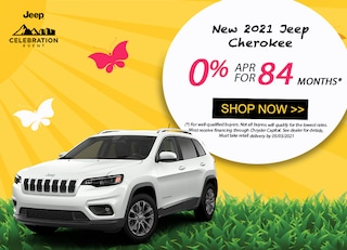 2021 Jeep Cherokee: 0% APR for 84 Months!