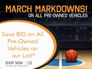 Save Big on All Pre-Owned Vehicles