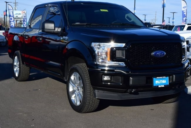2018 Ford F-150 XL 4WD Supercrew 5.5 Box Crew Cab Pickup