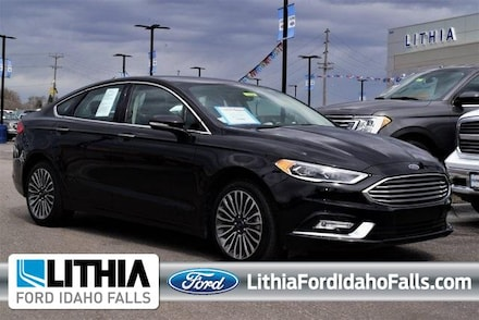 2018 Ford Fusion Titanium AWD Car