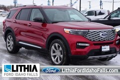 New 2020 Ford Explorer Platinum Sport Utility Idhao Falls