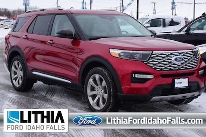 New 2020 Ford Explorer For Sale At Lithia Ford Idaho Falls