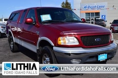 2002 Ford F-150 Supercab 139 XLT 4WD Extended Cab Pickup