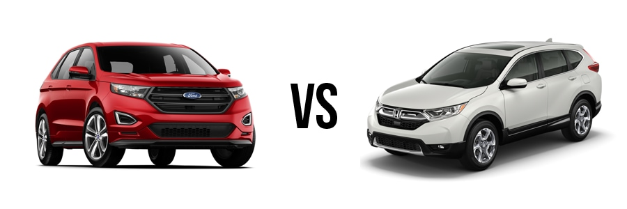 Ford Edge Vs Honda Cr V