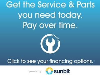 Get the service & parts you need today. Pay over time.
