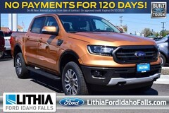 New 2019 Ford Ranger Lariat Crew Cab Pickup Idhao Falls