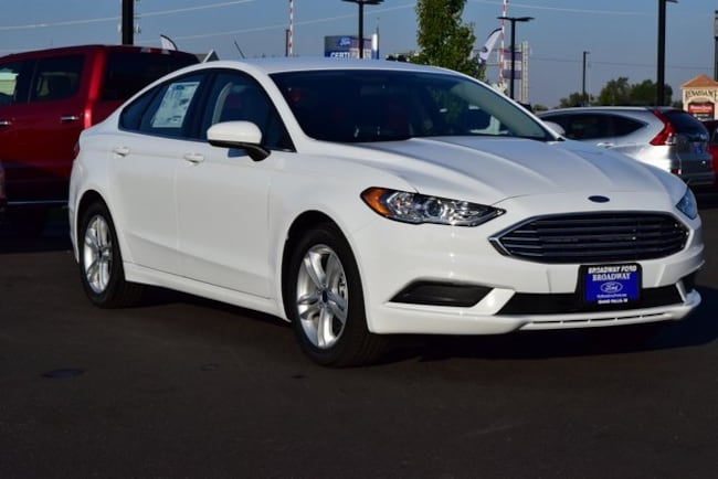 2018 Ford Fusion SE FWD Car