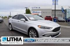 2017 Ford Fusion Platinum FWD Car