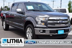 Used 2016 Ford F-150 4WD Supercrew 157 Lariat Crew Cab Pickup Idaho Falls