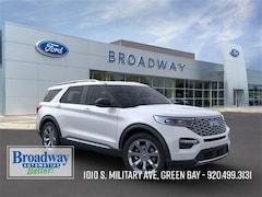 New 2020 Ford Explorer Platinum SUV 1FM5K8HC4LGA68418 M027415 for sale near Appleton