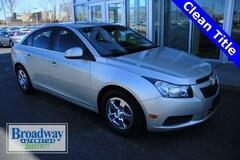Used 2013 Chevrolet Cruze 1LT Sedan for sale in Green Bay