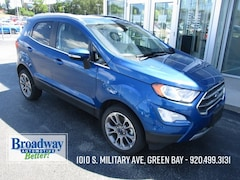 Used 2019 Ford EcoSport Titanium SUV M029104 for sale in Green Bay