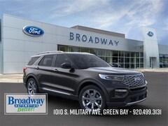 New 2020 Ford Explorer Platinum SUV 1FM5K8HC2LGB14893 M027830 for sale near Appleton