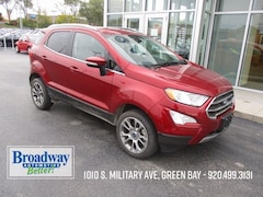 Used 2018 Ford EcoSport Titanium SUV M029800 for sale in Green Bay