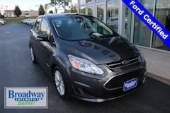 Certified 2017 Ford C-Max Hybrid SE Hatchback 1FADP5AU6HL108764 for sale in Green Bay, WI