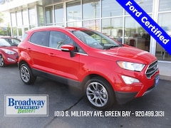 Used 2019 Ford EcoSport Titanium SUV M029170 for sale in Green Bay