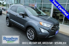 Used 2019 Ford EcoSport Titanium SUV M028999 for sale in Green Bay