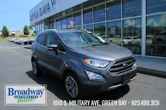 Certified 2019 Ford EcoSport Titanium SUV MAJ6S3KL6KC297649 for sale in Green Bay, WI