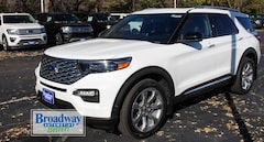 New 2020 Ford Explorer Platinum SUV 1FM5K8HC4LGA68418 M027415 for sale near Appleton
