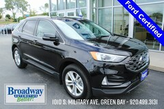 Certified 2019 Ford Edge SEL SUV 2FMPK4J92KBB79412 for sale in Green Bay, WI