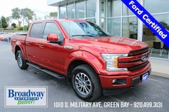 Used 2018 Ford F-150 Lariat Truck M028111A for sale in Green Bay