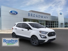 New  2020 Ford EcoSport S SUV for sale in Green Bay