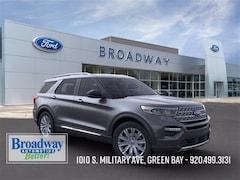 New 2020 Ford Explorer Limited SUV 1FM5K8FW1LGC12262 M028731 for sale near Appleton