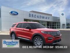 New 2020 Ford Explorer Limited SUV 1FM5K8FW0LGB61613 M028608 for sale near Appleton