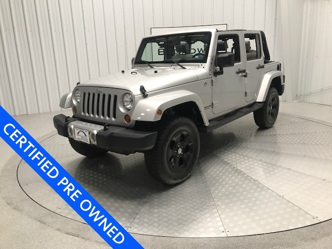 2008 Jeep Wrangler Unlimited Sahara SUV