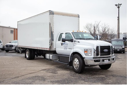 2021 Ford F-750 Diesel Base Truck SuperCab