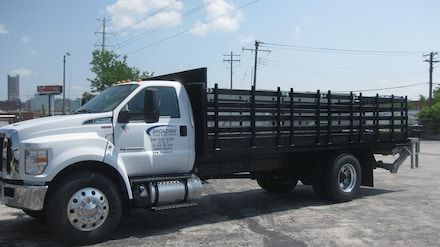 2019 Ford F-750 Diesel 20' Stakebed with 3,000lb. liftgate   Truck Regular Cab