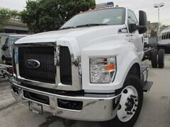 2019 Ford F-650 Diesel Base Truck Regular Cab