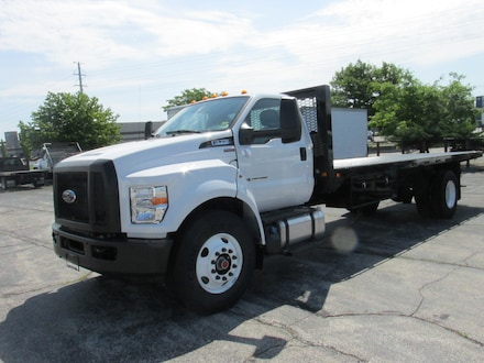 2019 Ford F-750 24FT FLATBED Truck Regular Cab