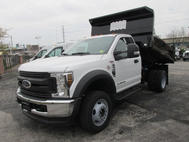 2019 Ford F-450 9FT DUMP Truck Regular Cab